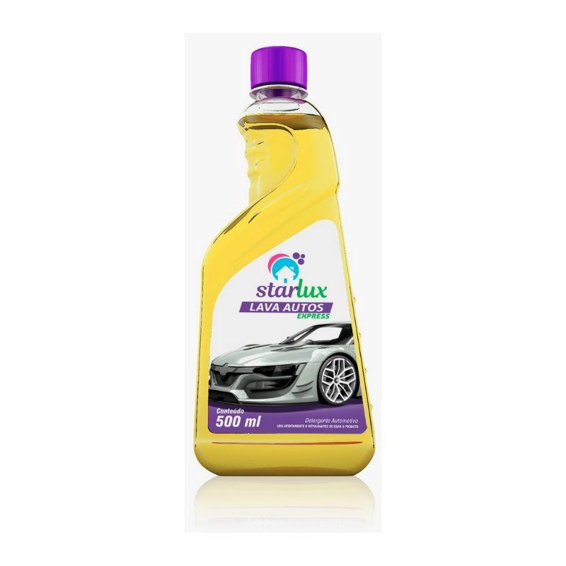 Detergente Automotivo  Lava Autos Express 500ML  -  Linha Starlux