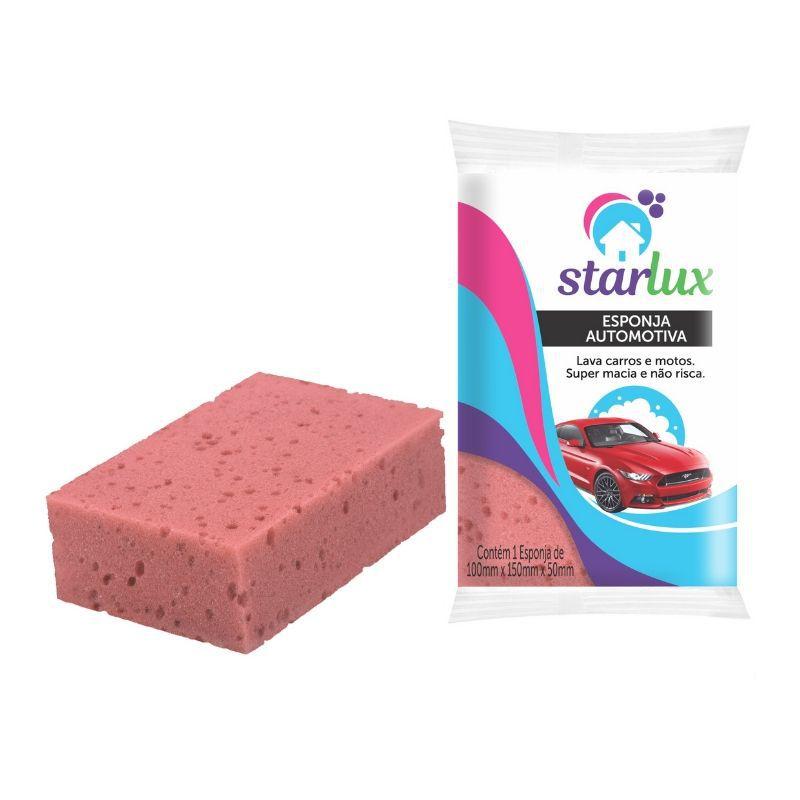 Esponja Limpa Car Starlux ( Produzidas em Espuma de Poliuretano )