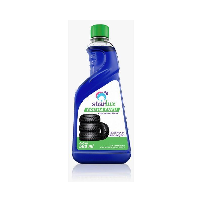 Brilha Pneu Starlux 500ml (Produto Não Inflamável e Biodegradável)