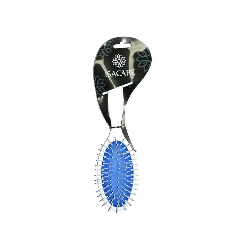 Escova Isacare Magic Colors White Oval Azul (Corpo em plástico ABS)