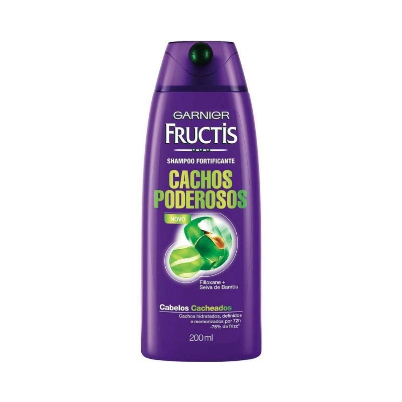 Shampoo Fructis Cachos Poderosos 200ml ( Mais Movimento ao Cabelo )