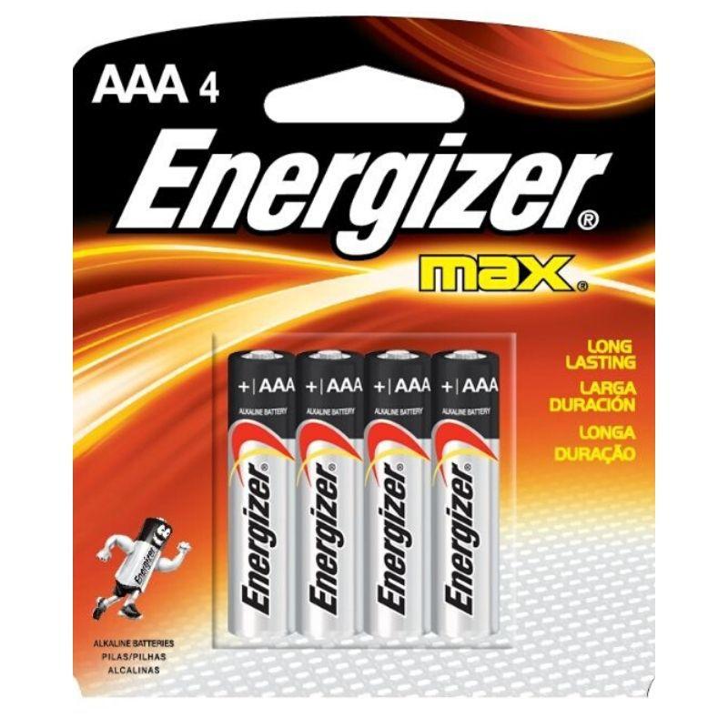 Pilha Energizer Max Palito AAA4 1x4