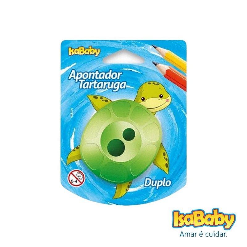 Apontador Isababy Zoo Maped Tartaruga (depósito em alta capacidade)