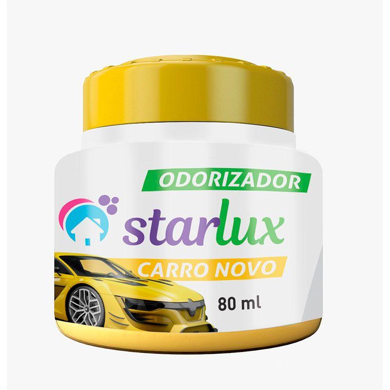 Odorizador Carro Novo Starlux 80ml ( Aroma Suave e Agradável )