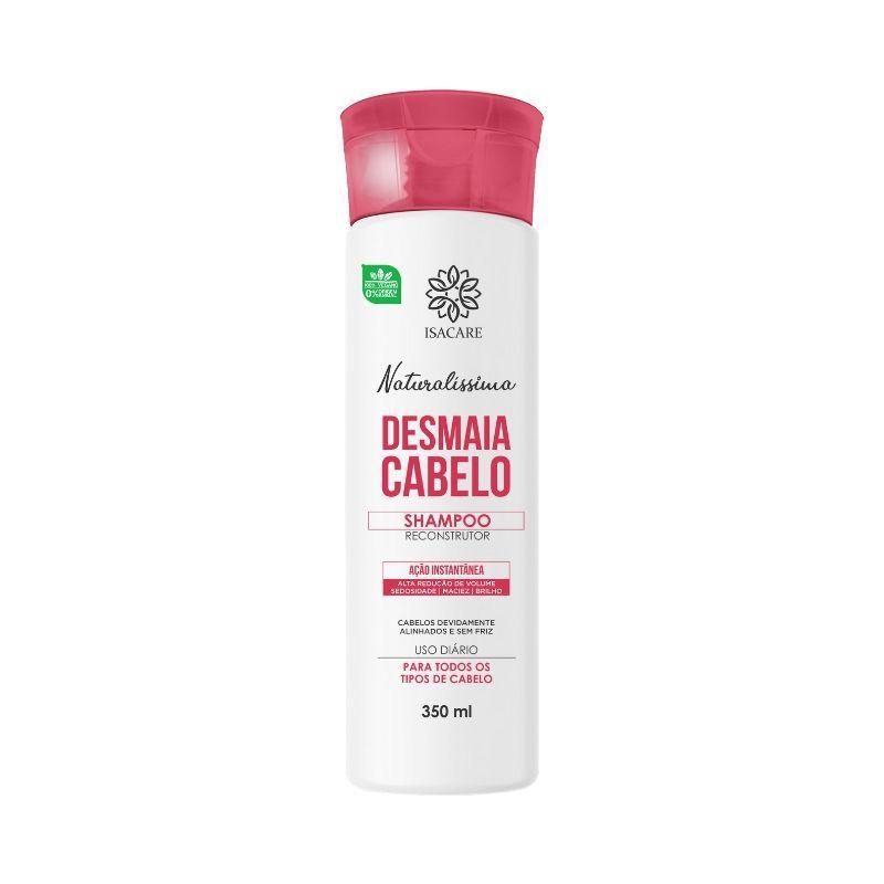 Shampoo Isacare Desmaia Cabelo 350ml Tornando-o Mais Macio e Sedoso