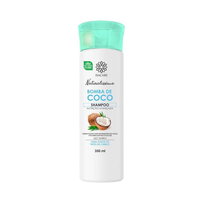 Shampoo Isacare Bomba de Coco 350ml(Tornando-o Mais Macio e Sedoso)