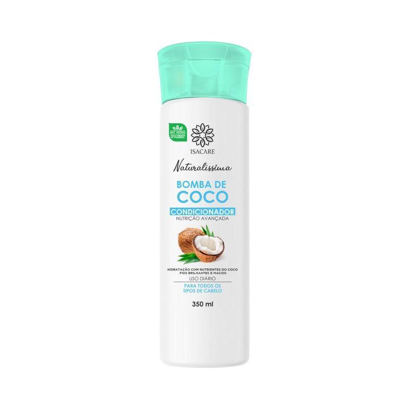 Condicionador Isacare Bomba de Coco 350ml ( Mais Macio e Sedoso )