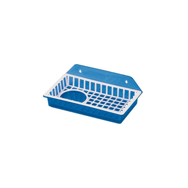 Porta Sabão Azul Starlux (Espaço para utilizar barra e detergente)