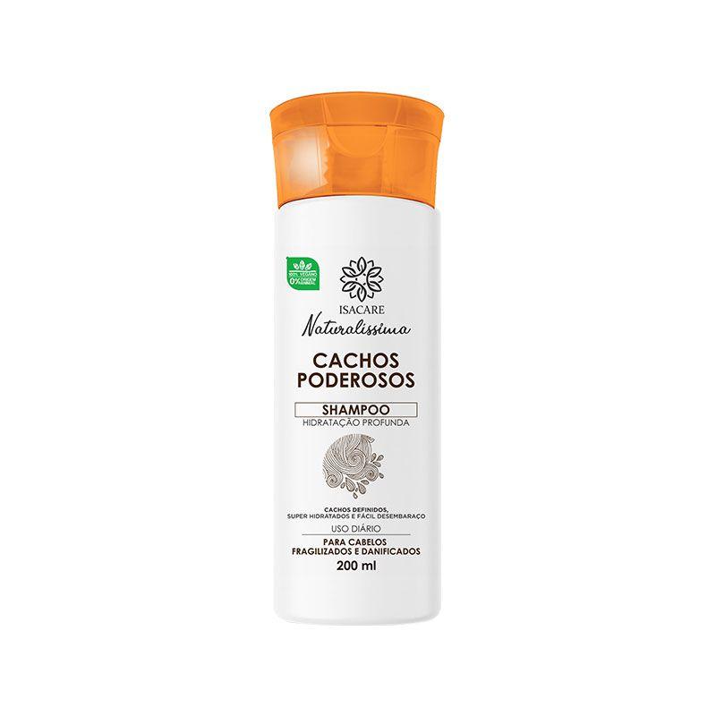 Shampoo Isacare Cachos Poderosos 200ml ( Facilita o Desembaraço )