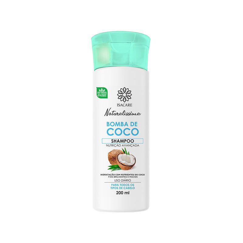 Shampoo Isacare Bomba de Coco 200ml ( Altamente hidratante )
