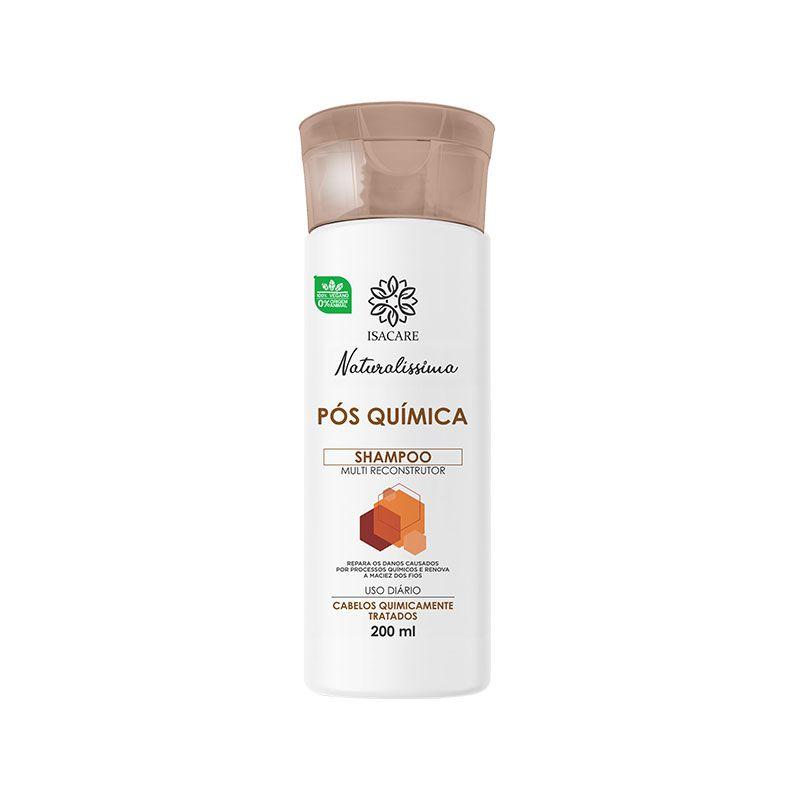 Shampoo Isacare Pós Química 200ml ( Repõe os Nutrientes Essenciais)