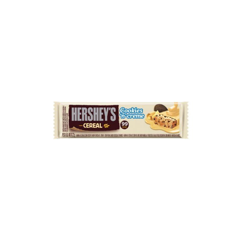 Barra de Cereal Hersheys Cookies Creme 22g ( Delicioso Chocolate )