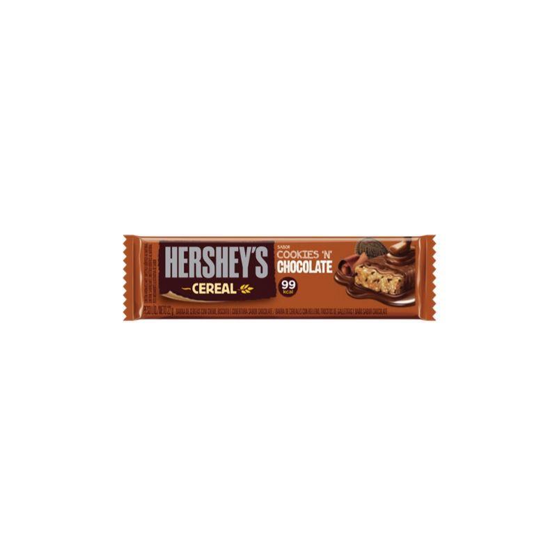 Barra de Cereal Hersheys Chocolate 22g ( Delicioso Chocolate )