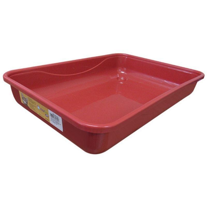 Banheira Para Gato Classic Vermelha Starlux Pet