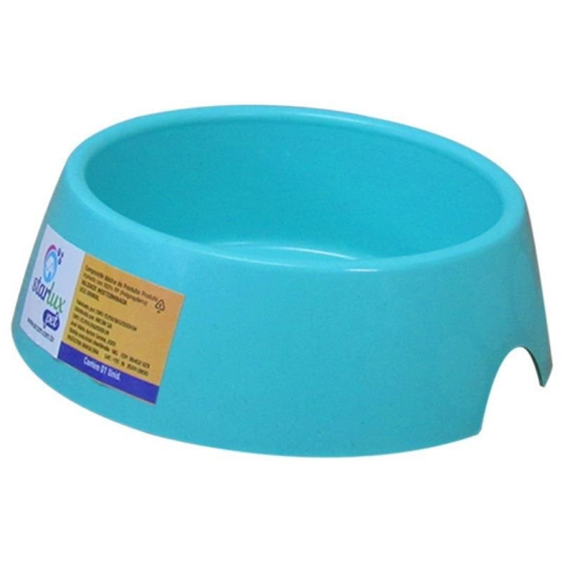 Comedouro Plástico Especial Resistente Pop 300 ML Linha Starlux Pet