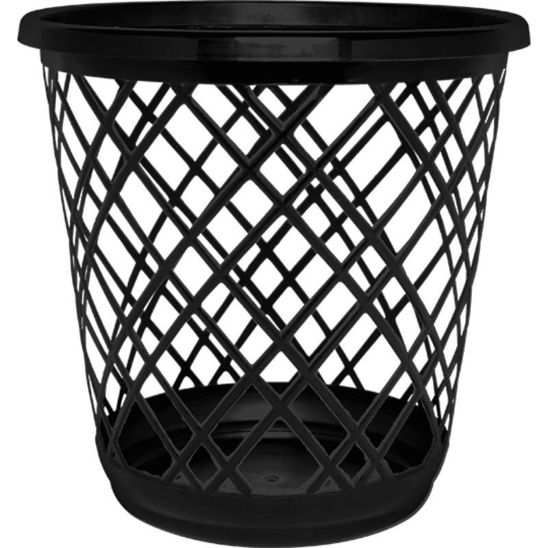 Lixeira Preta Eco Nature 10L Starlux ( Matéria-Prima Reciclada )