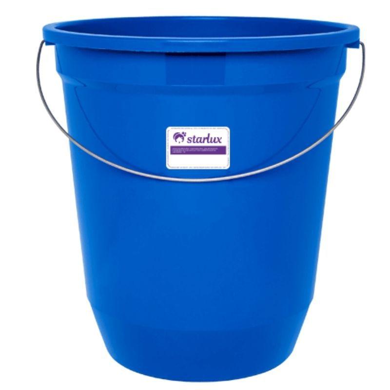 Balde Azul 13,5L Starlux(Resistência, Durabilidade e Alça em Metal)