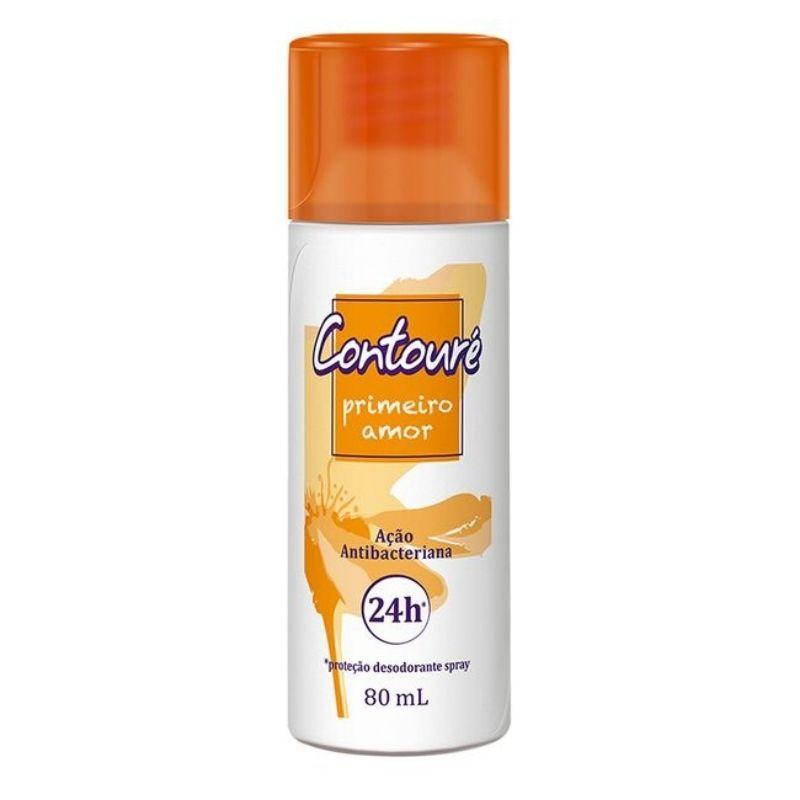 Desodorante Spray Contoure Amor 80 ML ( Protege Contra os Odores )