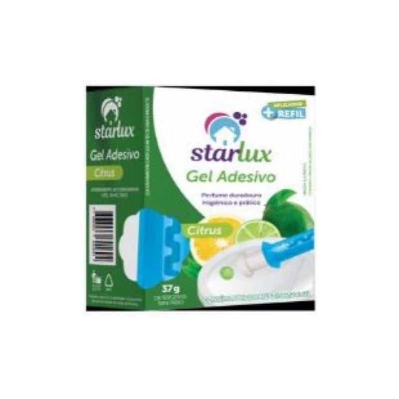 Gel Sanitário Citrus Com Aplicador Limpeza e Perfume  37G Starlux