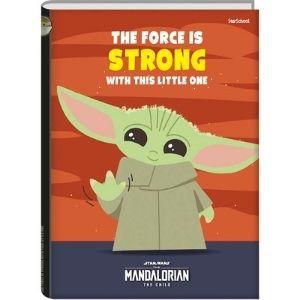 Caderno Universitário Disney Mandalorian CD 80 folhas – StarSchool