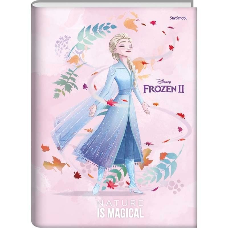 Caderno  Universitário  Disney Frozen Cd  80 folhas -  StarSchool