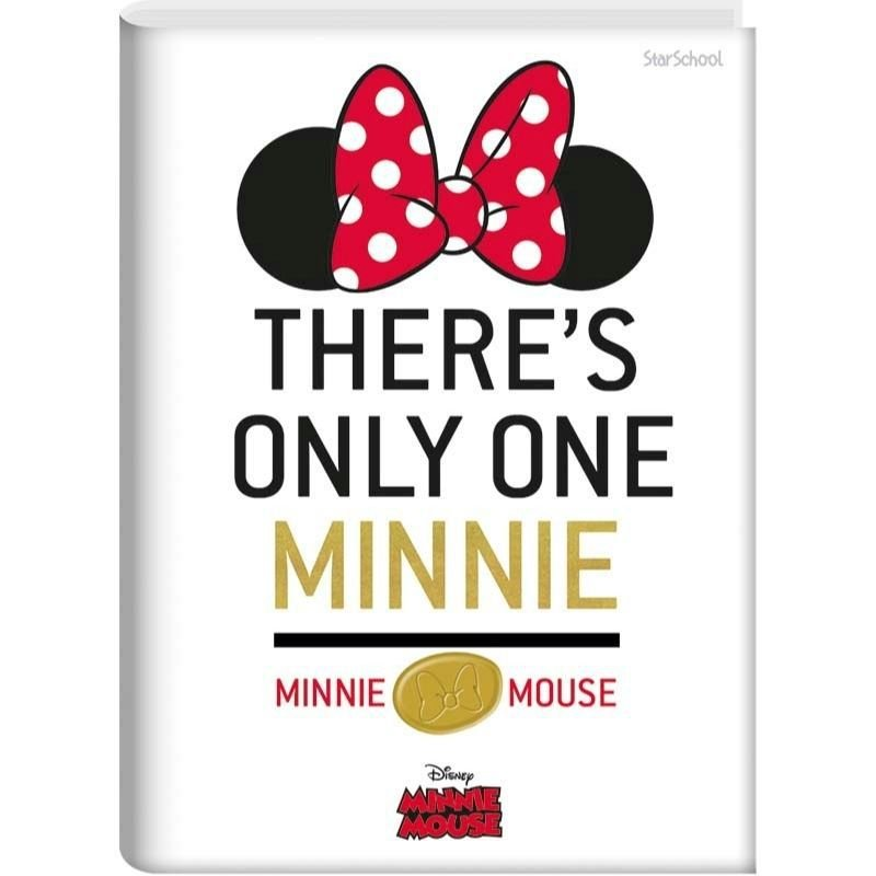 Caderno Universitário  Disney Minnie CD  80 folhas  –  StarSchool