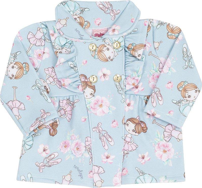kit Conjunto 3 Peças Bailarina Pink - Serelepe Kids