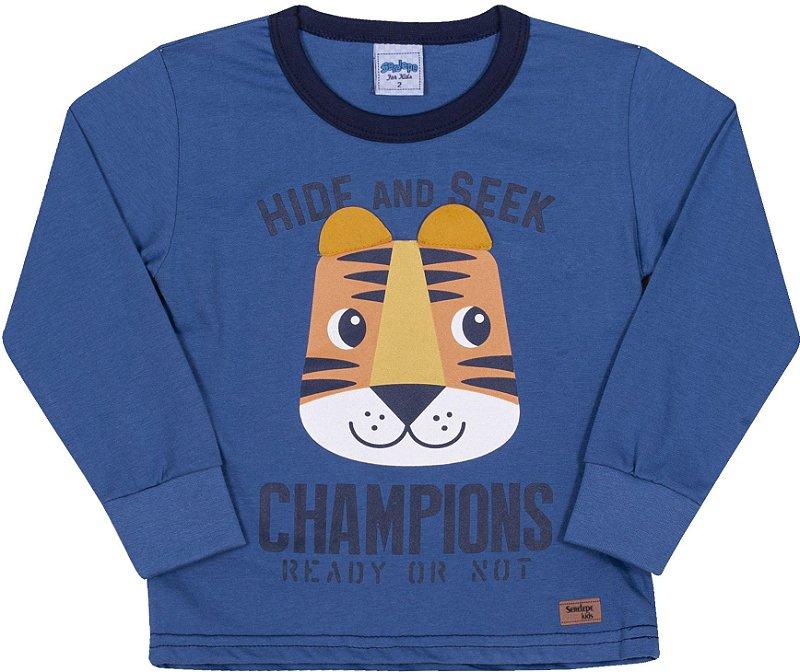 Camiseta Avsulsa Infantil Champions Alaska - Serelepe Kids