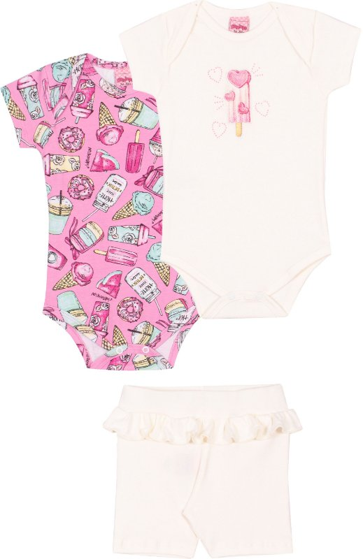 Kit Body Candy Kawaii Bêgonia - Serelepe Kids