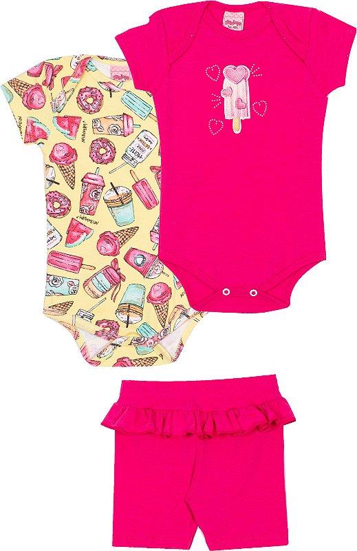 Kit Body Candy Kawaii Lima - Serelepe Kids