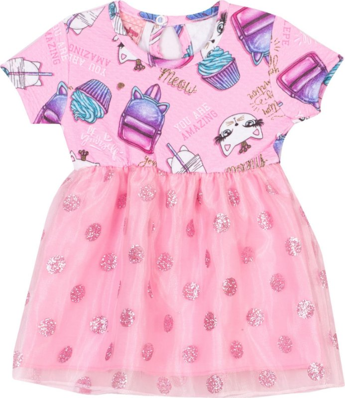 Vestido Cats Begonia - Serelepe Kids