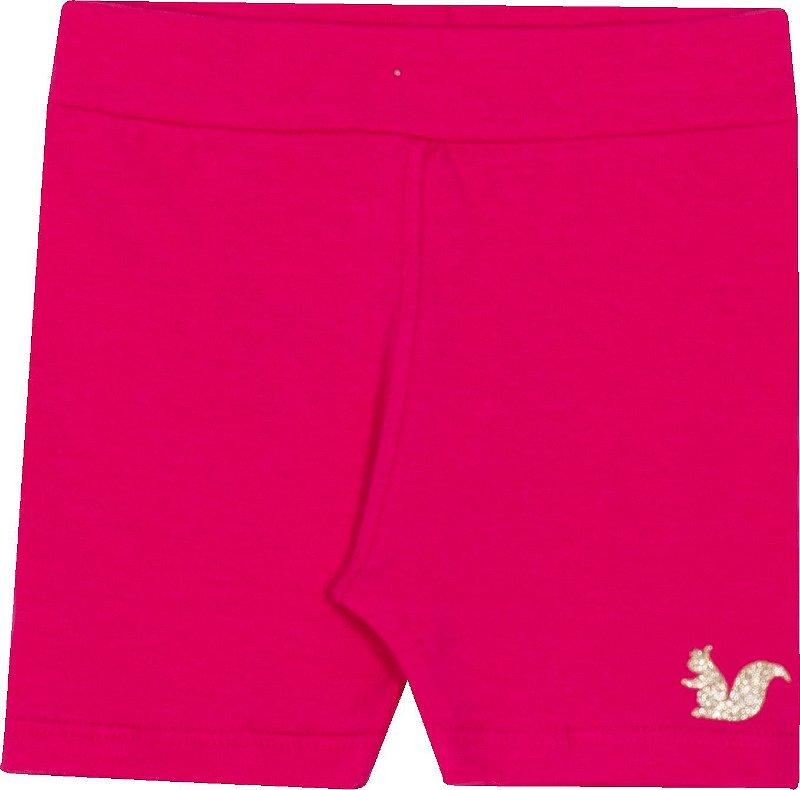 Bermuda Avulsa Biker Pink - Serelepe Kids