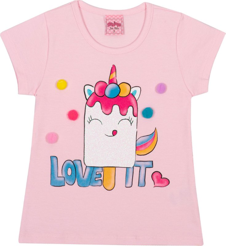 Blusa Avulsa Love It Pétala - Serelepe Kids