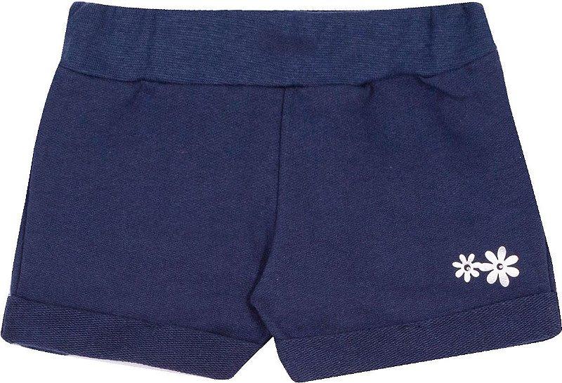 Shorts Avulso Marinho - Serelepe kids