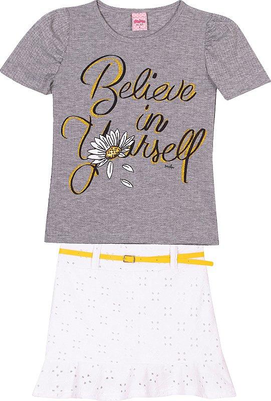 Conjunto Believe Mescla - Serelepe Kids