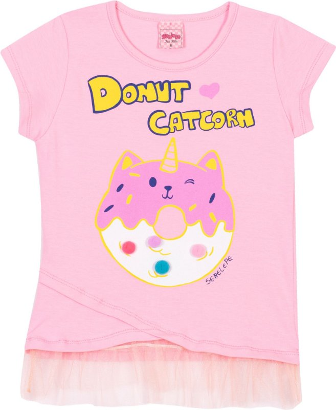 Blusa Avulsa Donut Bêgonia - Serelepe Kids