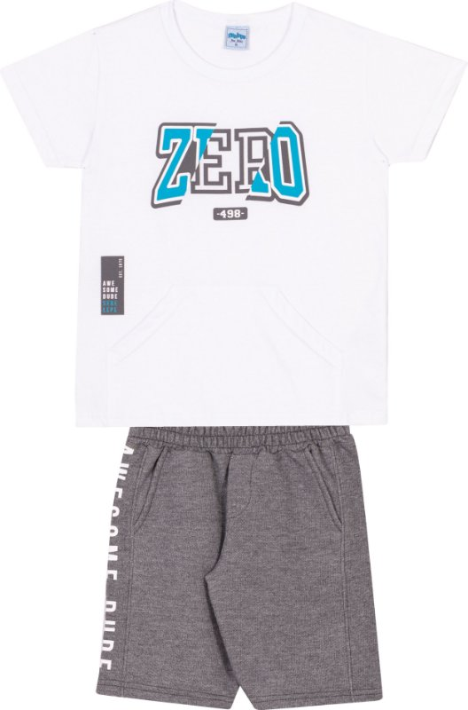 Serelepe Kids - Conjunto Zero Branco