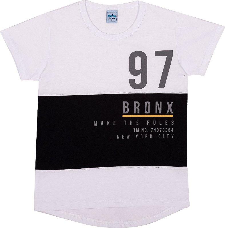 Serelepe Kids - Camiseta Avulsa 97 Bronx Branco