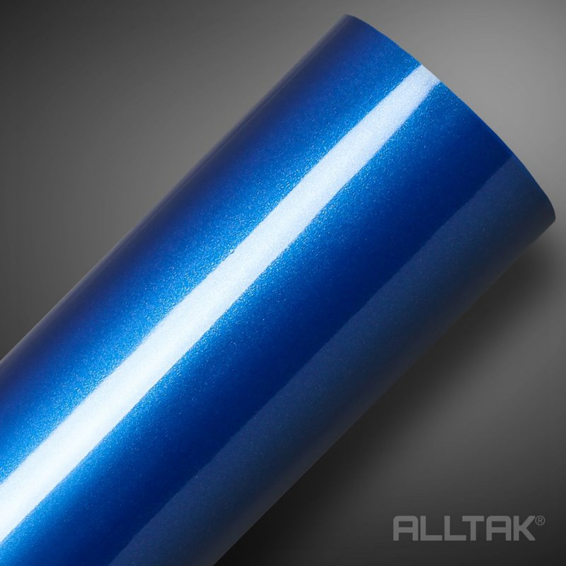 VINIL ALLTAK ULTRA BLUE METALLIC 1,38MT X 1,00MT