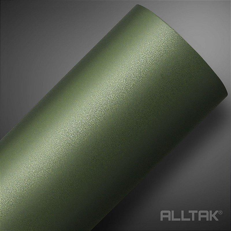 VINIL ALLTAK JATEADO MILITARY GREEN 1,38MT X 1,00MT