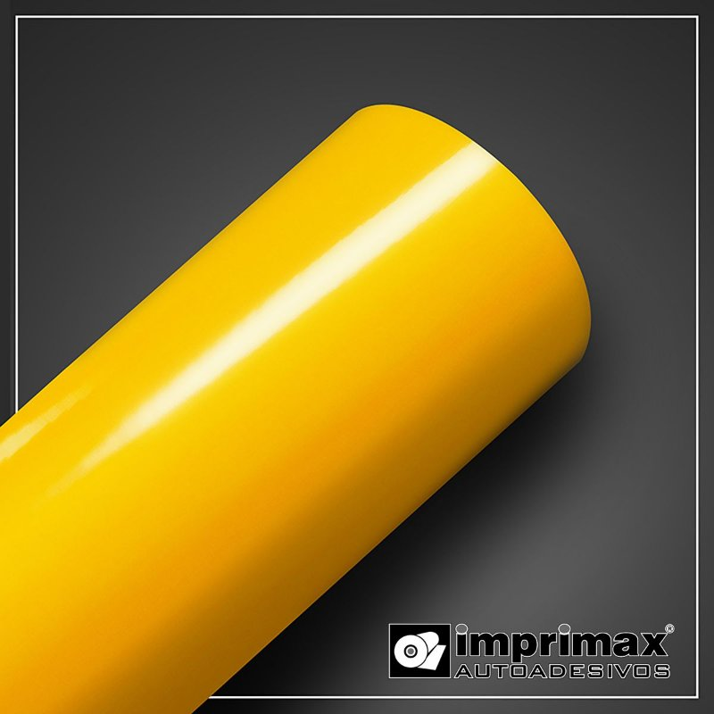 VINIL COLOR MAX AMARELO MEDIO 1,00MT x 1,00MT