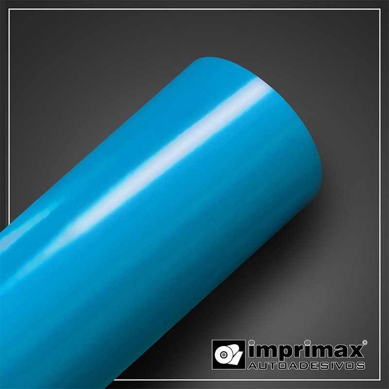 VINIL COLOR MAX AZUL CEU 1,00MT X 1,00MT