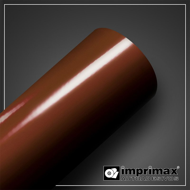 VINIL COLOR MAX MARROM 1,00MT X 1,00MT