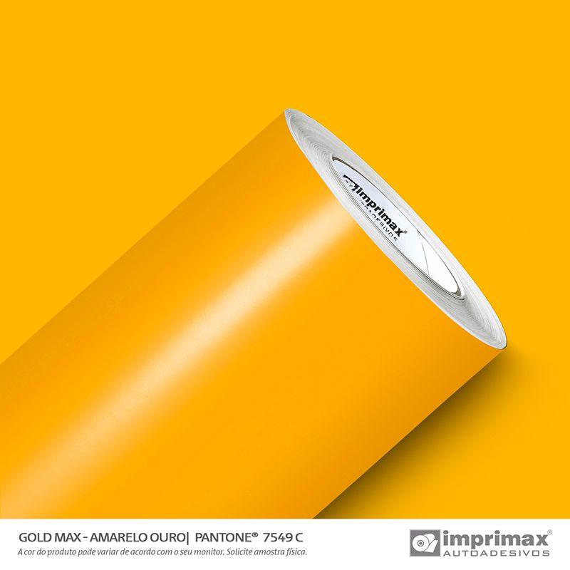 VINIL GOLD MAX AMARELO OURO 1,22MT X 1,00MT