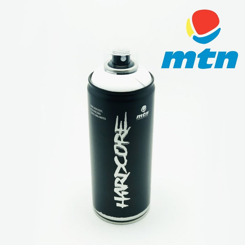 TINTA SPRAY MONTANA HARDCORE 400ml BRANCO