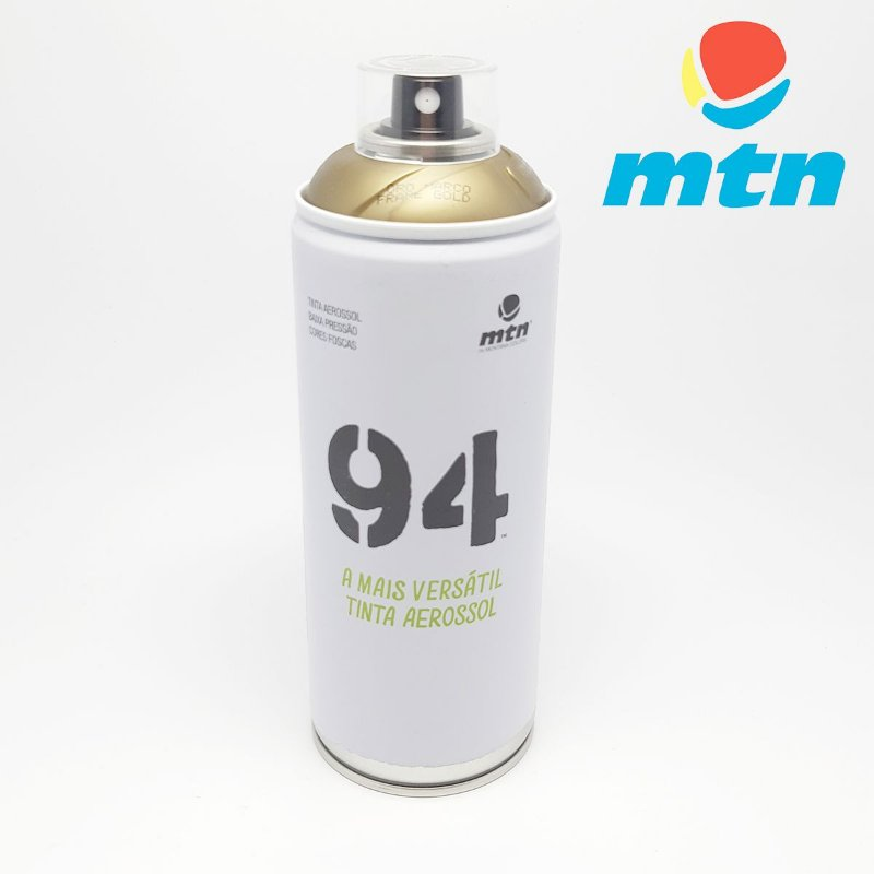 TINTA SPRAY MONTANA 94 400ml OURO