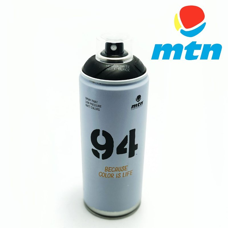 TINTA SPRAY MONTANA 94 400ml PRETO