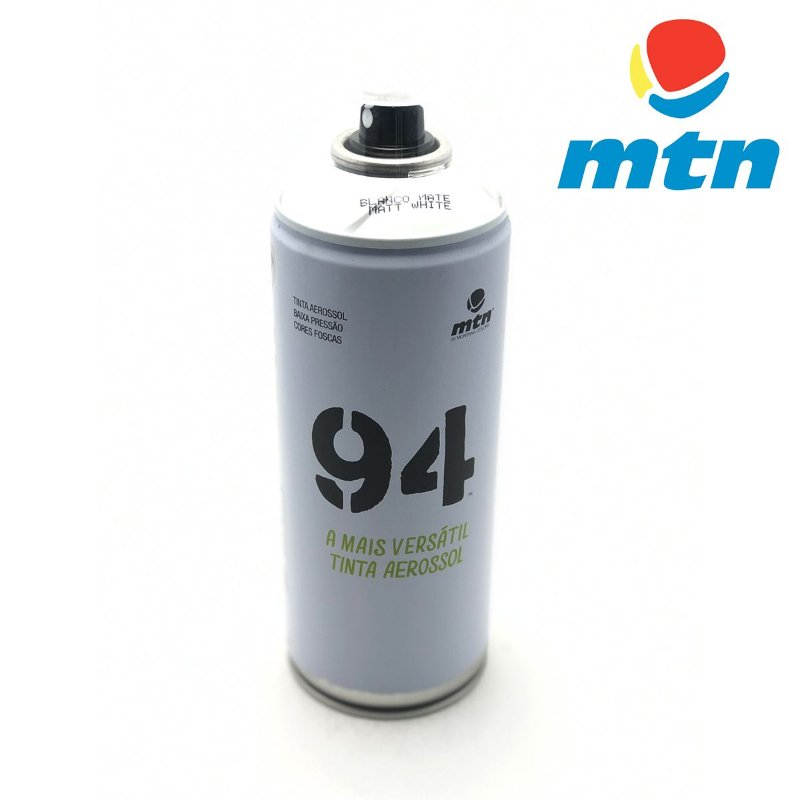 TINTA SPRAY MONTANA 94 400ml BRANCO