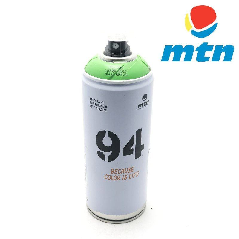 TINTA SPRAY MONTANA 94 400ml VERDE HULK