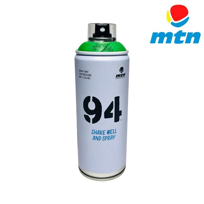 TINTA SPRAY MONTANA 94 400ml VERDE VALE